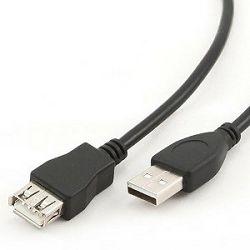 Kabel USB 2.0 produžni AM/AF, 2m, bulk