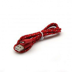 Kabel USB za android smartphone, crveni, 1m x 5