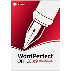 WordPerfect Office X9 Pro Single User Upgrade License ML