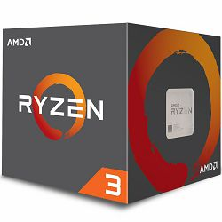 AMD CPU Desktop Ryzen 3 4C/4T 1300X (3.5/3.7GHz Boost,10MB,65W,AM4) box, with Wraith Stealth cooler