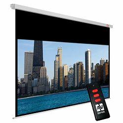 Zidno električno platno Avtek Video Electric 240, 240x200 cm, format 4:3