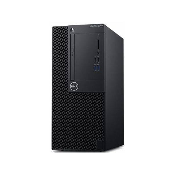 Dell OptiPlex 3060 MT - Intel i3-8100 3.6GHz / 8GB RAM / 1TB HDD / Intel UHD 630 / Windows 10 Pro / Dell USB keyboard & mouse