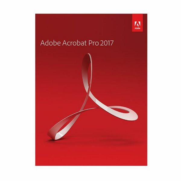 Adobe Acrobat Pro 2017 WIN/MAC IE trajna licenca