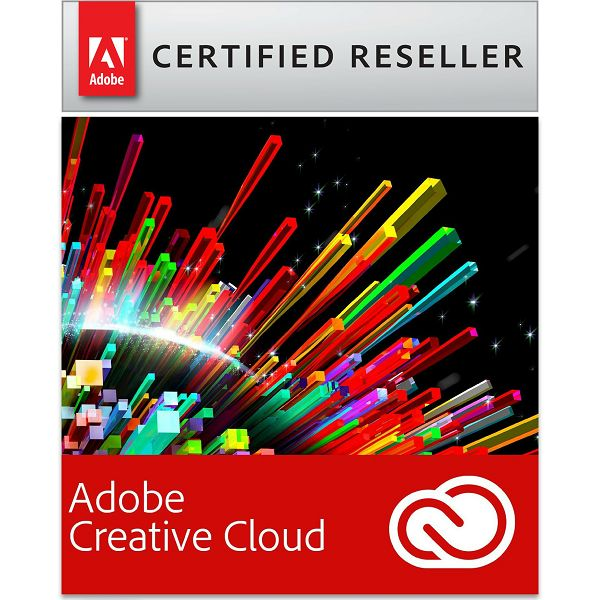 Adobe Creative Cloud for teams All Apps, WIN/MAC, 1-godišnja pretplata