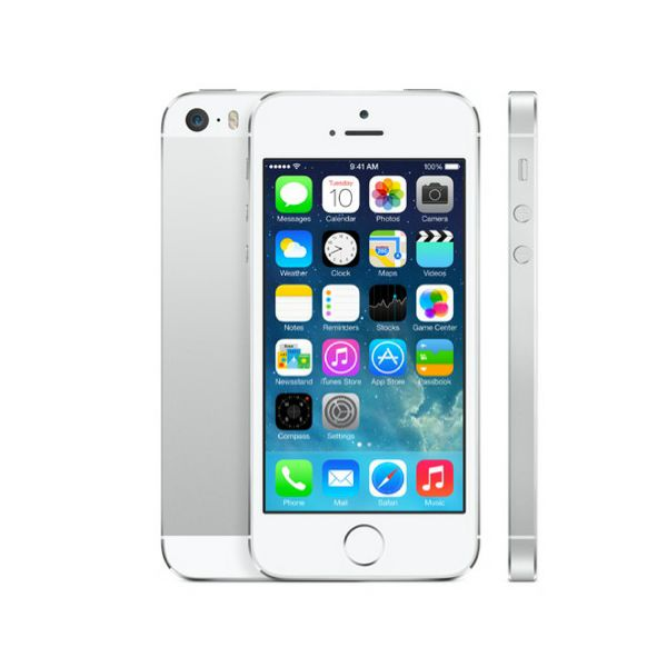 Apple iPhone 5s, 16GB, silver, me433