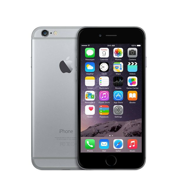 Apple iPhone 6 64GB Space Gray, mg4f2cn/a