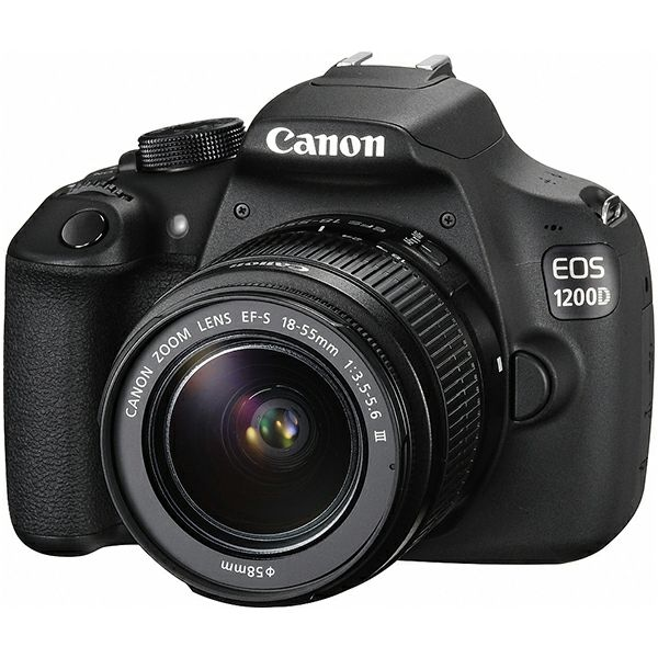 Canon EOS 1200D 18-55, 18MP, ISO6400, FullHD, POKLON Kingston SDHC 16GB