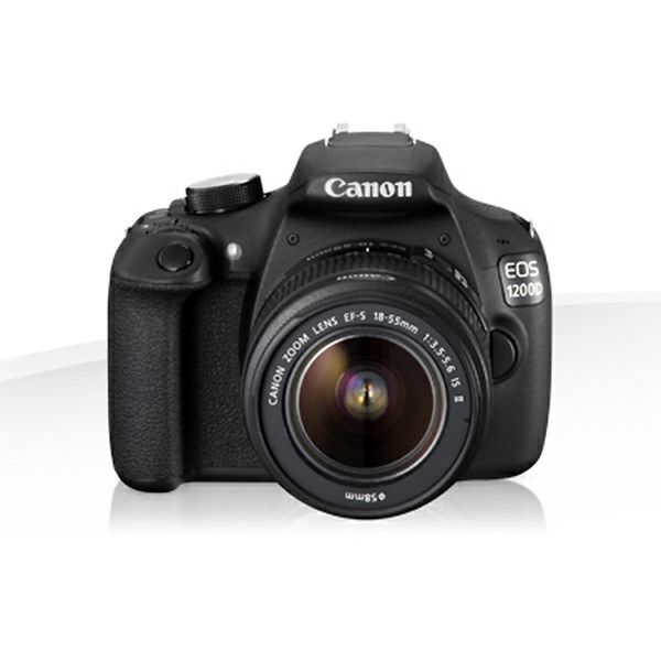 Canon EOS 1200D 18-55IS, 18MP, ISO6400, FullHD, POKLON Kingston SDHC 16GB
