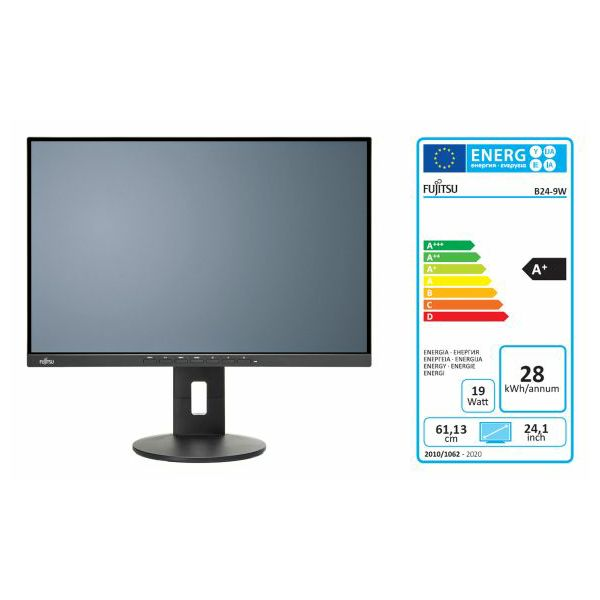 Fujitsu B24-9 TS Pro HDMI, DP, VGA, piv, zvu, USB