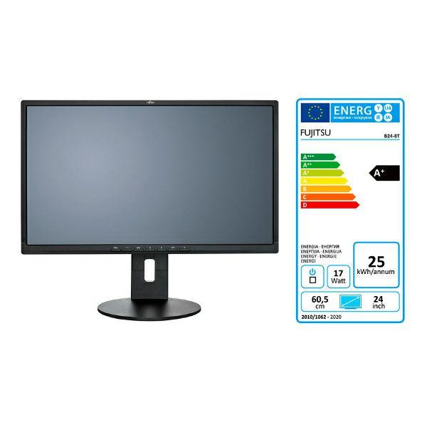 Fujitsu B24-8 TS Pro HDMI, DVI, VGA, pivot, zvučnici, USB