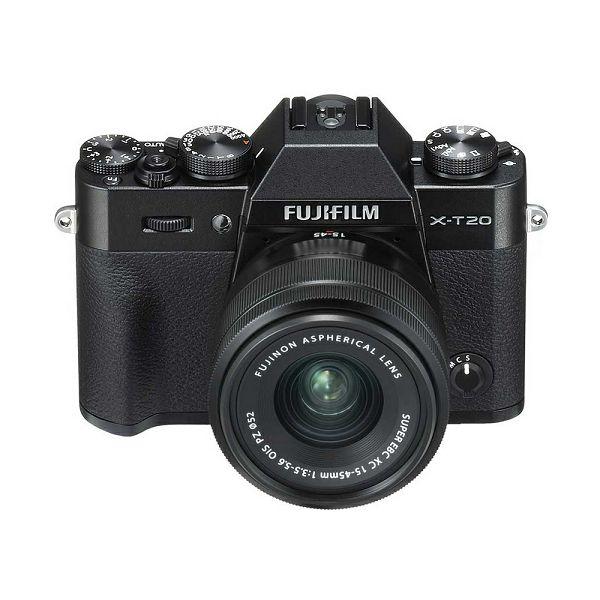 FUJI X-T20 15-45mm Kit  Body+lens, 24MP X-Trans CMOS III 3,0