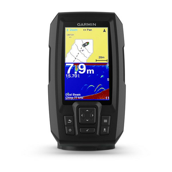 GARMIN Striker Plus 4 (s krmenom sondom CHIRP 77/200kHz, 4-pin), GPS