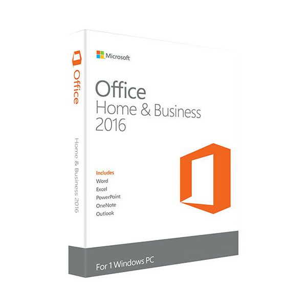 MS Office Home and Business 2016 Cro Medialess