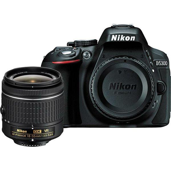 Nikon D5300 KIT AF-P 18-55VR BLACK