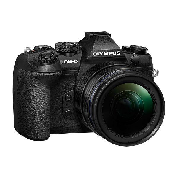 OLYMPUS E-M1 II Body black + EZ-M1240PRO (12-40mm PRO) black incl. Charger, Battery & Lens Hood, V207061BE000