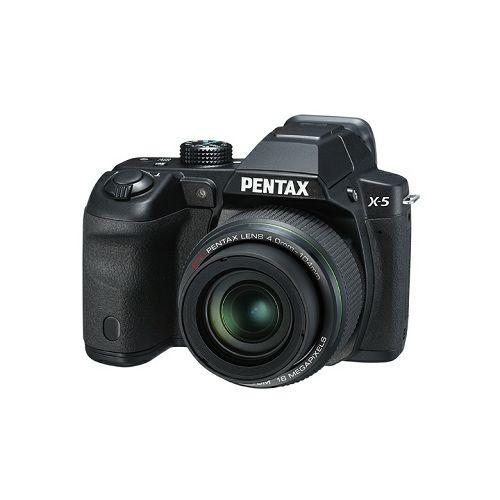 Pentax X-5 Black + SD 8GB + torbica