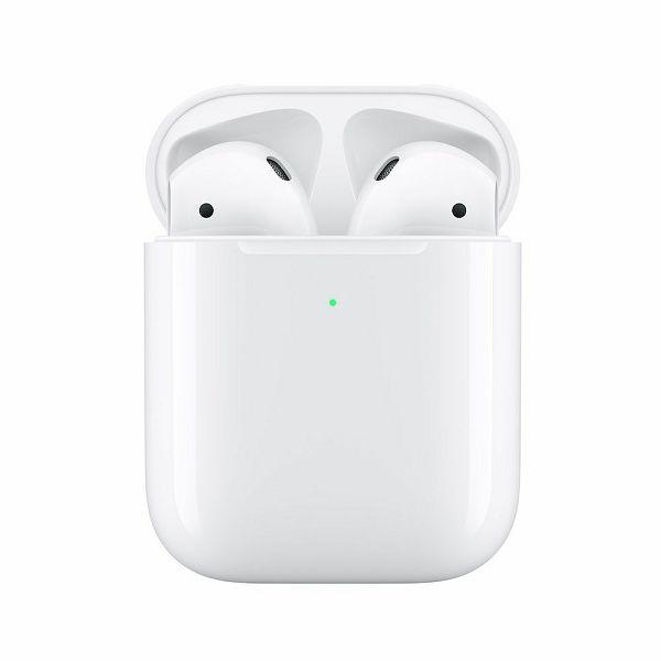 Slušalice APPLE AirPods 2 s kutijicom za bežično punjenje (mrxj2zm/a)