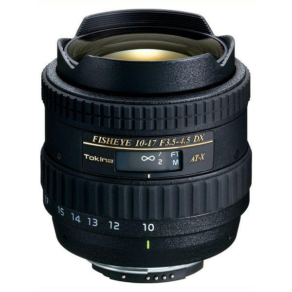 Tokina AT-X 10-17mm F3.5-4.5 DX C/AF za Canon, FISHEYE, 4961607634127